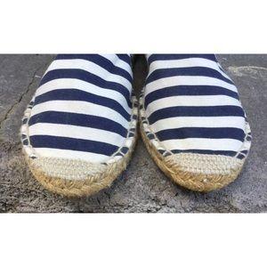 J. Crew Shoes - J Crew Striped Espadrilles 11